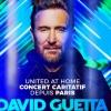 David Guetta | United at Home - Paris Edition à suivre en direct Le 31 décembre 2020 sur tous les réseaux sociaux
